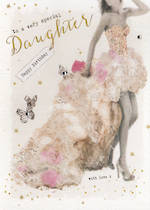 Daughter Birthday Card: Privee Special