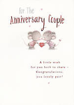 Anniversary Card Your: Hallmark Lovely Pair