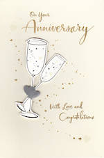 Anniversary Card Your: Love And Congrats