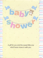 Baby Shower Card: Gift For You