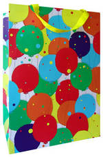 Gift Bag: Large - General Xlge Bag Hm Birthday Balloons