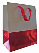 Gift Bag: Medium - General Dip Dyed Red