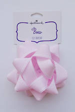 Bow: Fabric Light Pink