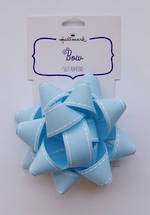 Bow: Fabric Light Blue