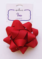 Bow: Fabric Red
