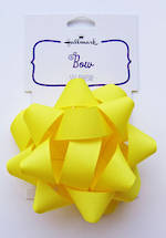 Bow: Fabric Yellow