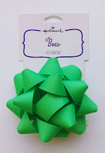 Bow: Fabric Green