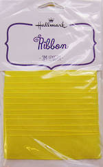 Ribbon: Fabric Yellow 2m
