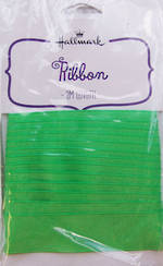 Ribbon: Fabric Green 2m