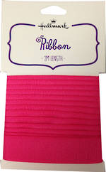 Ribbon: Fabric Hot Pink 2m