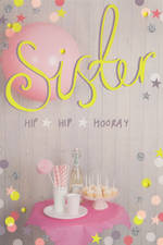 Sister Birthday Card: Hallmark Hip Hip Hooray