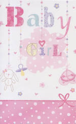 Hallmark Value: Baby Girl Pink Cloud