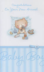 Hallmark Value: Baby Boy At Cot