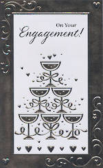 Hallmark Value: Engagement Champagne