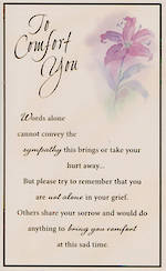 Hallmark Value: Sympathy Words