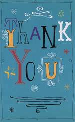 Hallmark Value: Thank You Turquoise