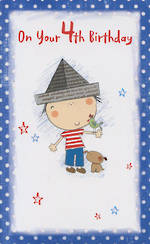 Hallmark Value: Age 4 Boy Paper Hat