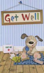 Hallmark Value: Get Well Puppy