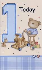 Hallmark Value: Age 1 Boy Bear