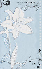 Hallmark Value: Sympathy White Flower