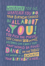 Hallmark Interactive Birthday Card: Female All About You