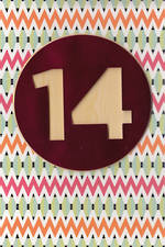 Age Card 14: Female Birthday Pattern