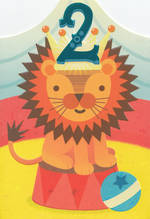 Age Card 2: Boy Circus Lion