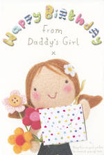 Dad Birthday Card: From Daughter Juvenile