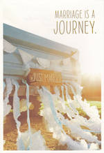 Wedding Card: Hallmark Live Beautifully Journey