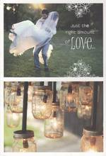 Wedding Card: Hallmark Live Beautifully Right Amount