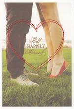 Anniversary Card: Live Beautifully Still Married