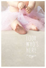 Baby Card Girl: Live Beautifully Look
