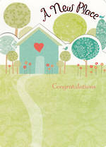 New Home Card: Congratulations