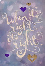 Engagement Card: Hallmark Live Beautifully Its Right