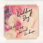 Wedding Card: Hallmark Roses Picture
