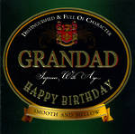 Grandad Birthday Card: Boy Brands Grandad