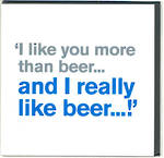 Lyric: More Than Beer