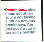 Lyric: Tea & Biscuits