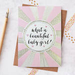 Baby Card Girl: Jessica Hogarth Beautiful