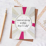 Anniversary Card: Jessica Hogarth Love Birds