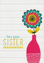 Sister Birthday Card: Jessica Hogarth For You