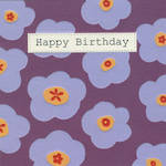 Birthday Card: Chelsea Floral Print