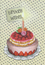 Lucie Faire: Birthday Wishes Cake