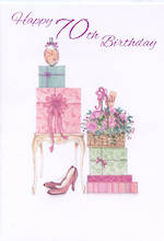 Age Card 70: Female Shoes & Gifts