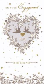 Engagement Card: Pizazz Love Is In The Air