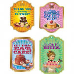 Food Gift Tag Sweet Confection