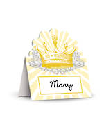 Crown Place Cards