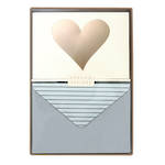 Note Cards Heart Box of 10