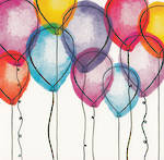 Blooming Wishes: Balloons
