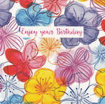 Blooming Wishes: Enjoy Birthday